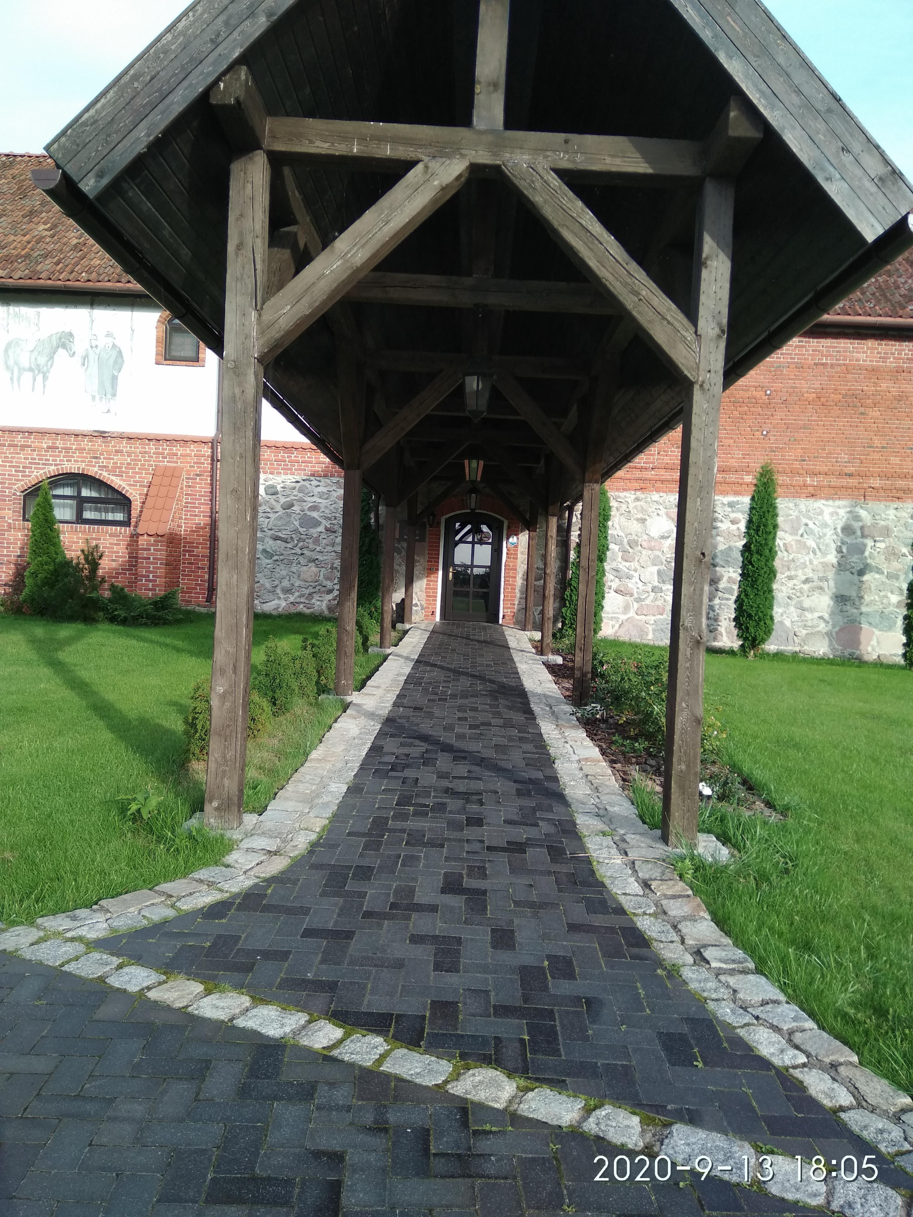 Лангендорф, замковое имение - №1